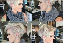 Asymmetrical hairstyles