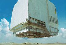 Sci Fi World / Sci Fi Fantasy Epic Future Architecture