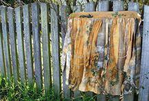gone rustic textile art