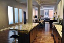 West Village Loft / West Village Loft renovation by INS CONTRACTORS. #Home #decor #interiors #design