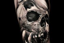 Orlando tattoo / In questa bacheca sono raccolte alcune opere di Antonio Orlando Tatuatore del realistico salentino