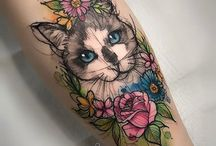 kočky tetování