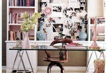 Girly office / by Shannon Williamson