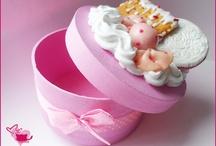 Fimo Boxes / fimo, sweets, boxes,