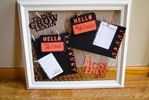 Frames / Fun things to try with Close To My Heart's new Designed Decor Frames.