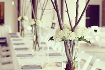 wedding table flowers decor