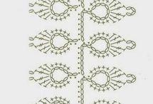 folhas crochet | crochet leaves