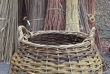 John Cowan Baskets / #basketry #basketmaker #willowbasket
