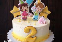 Торт для близнецов
