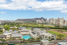 City Living in Oahu / Hawaii real estate at its finest at the very heart of the City.
