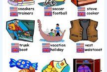 British English-American English