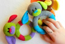 Crochet baby toy