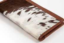 3.7.6. Wallet Delta DLT85 (314564) / Wallet DLT85. Brown and white cow's hide and goldentan natural leather, goldentan leather inside. (mm) 90 x 180 x 10 #376style
