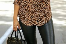 Leather pants outfit