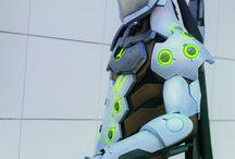 Genji cosplay suit