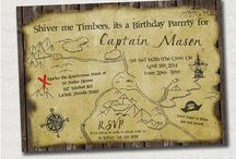 Pirate on the Sea Birthday Party Ideas / by The PIY Life {formerly Lane34}