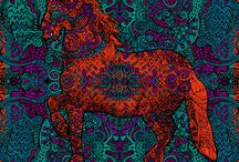 Psychedelic Tapestries / Psychedelic Tapestries to beautify Your home