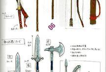 Fantasy Waffen