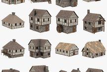 historické domy