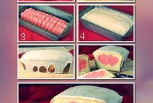 Heart inside Cake