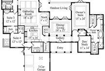 Interior Design: Floor Plans / by Dandelion Dust Designs
