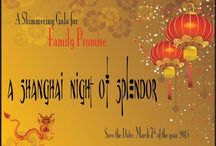 """""""A Shanghai Night of Splendor"""" - 2015 Gala / Family Promise will be having their annual gala at WestWorld in Scottsdale but there will be a NEW and exciting theme!"""