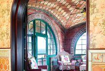 arch, brick, masonry