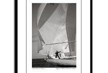 Sailing - Black & White