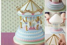 DIY cakes / Imágenes y tutorials sobre cómo elaborar tú misma bellos pasteles / Tips to create your own beautiful cakes.