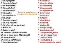German language learning