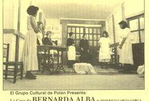 CARTELES DELGRUPO DE TEATRO / Hace tiempo hubo un Grupo de Teatro cuya sede era la Biblioteca, y estos son los carteles de algunos de los trabajos que llevaron a cabo.