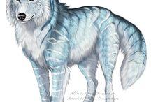 Wolf blå