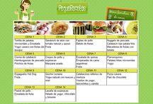 menús semanales