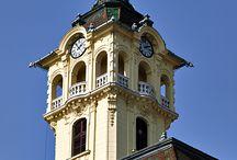 Szeged Town Hall /  http://www.budapestdaytrips.com/…/szeged-tour---the-city-of… http://www.pbase.com/helenpb/szeged