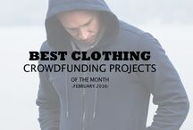 Clothing Crowdfunding Projects / Successful and interesting clothing crowdfunding campaigns, every month!