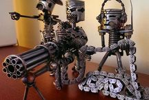 Mechano junkie / Mechanical art