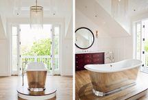 Bathroom Transitional Designs / by RJK Construction, Inc
