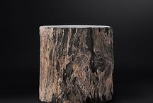 Rustic Wood End Tables / The world's most amazingly beautiful rustic style wood end tables for home furniture decoration.
