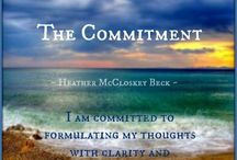 The COMMITMENT SERIES / I am currently writing this new book - it will publish in the Spring of 2015!
