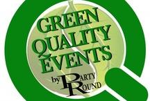 Green Quality Events by Party Round Green and Partners / Www.partyround.it - 0039 335 6815258 Party Round Green garantisce la massima qualità 'green' eco-sostenibile e socio-compatibile su tutti i servizi offerti per eventi aziendali o privati tradizionali e non convenzionali: - Catering & Banqueting - Spettacoli e Animazioni - Hostess e Promotrici - Riprese video e postproduzione - Piante alto fusto ed addobbi floreali - Scenografie e vetrinistica - Noleggio impianti audio/video/luci  - Allestimenti e tensostrutture, ombrelloni, palchi e passerelle
