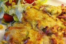 Gratenger og omeletter