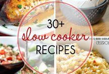 Recipes - Slow cooker & crockpot ideas
