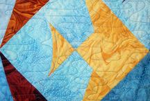 Quilting: Lazy angle quilt ideas / For use with the lazy girl design ruler