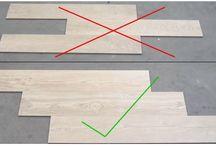 Floors - How to lay floor