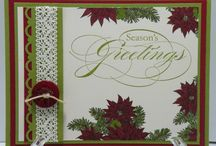 Stampin up bells and boughs