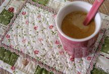 Mug rugs, placemats, tablerunners...