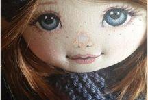 лицо кукол