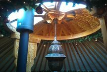 yurt versiering