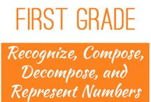 First Grade: Recognize, Compose, Decompose, and Represent Numbers