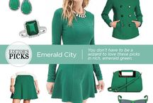 Trend We Love: Emerald City / You don't have to be a wizard to love these picks in rich, emerald green.